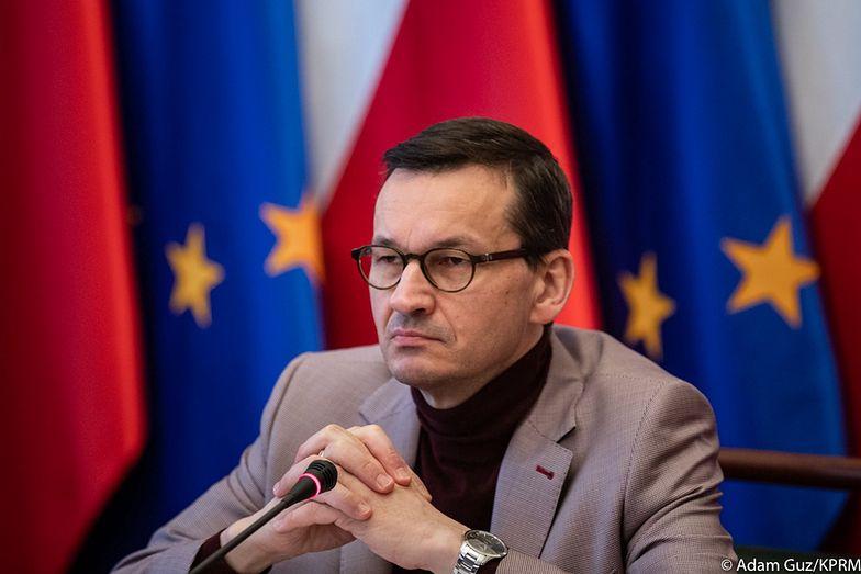 Morawiecki na konferencji prasowej przedstawił status realizacji tarczy antykryzysowej.