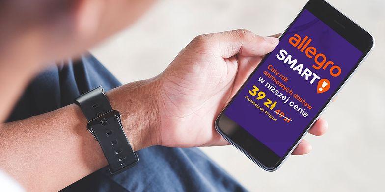 Mądre zakupy w czasach zarazy. Allegro Smart! to darmowa dostawa i atrakcyjne oferty