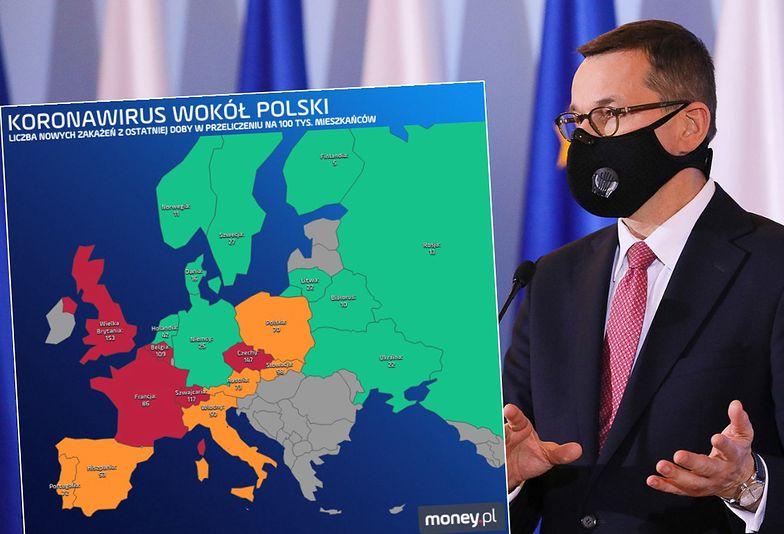 Epidemia w Europie nie zwalnia. Powodów do radości w Polsce nie mamy