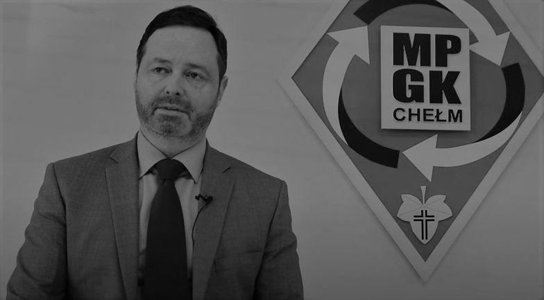 Nie żyje Marcin Czarnecki, prezes Miejskiego Przedsiębiorstwa Gospodarki Komunalnej w Chełmie