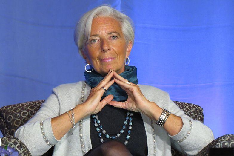 Christine Lagarde jest na czele Europejskiego Banku Centralnego.