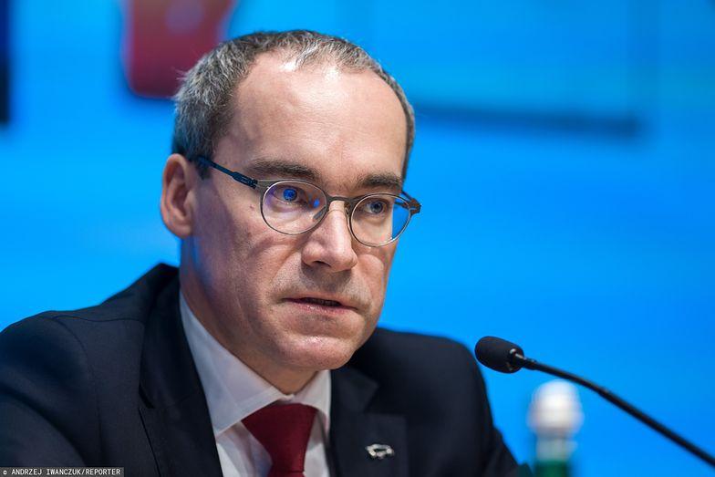Marek Lusztyn jest wiceprezesem Pekao.