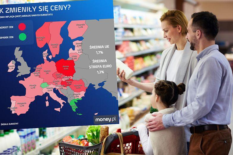 Polska symbolem drożyzny. Kolejny miesiąc ceny rosną najszybciej w UE