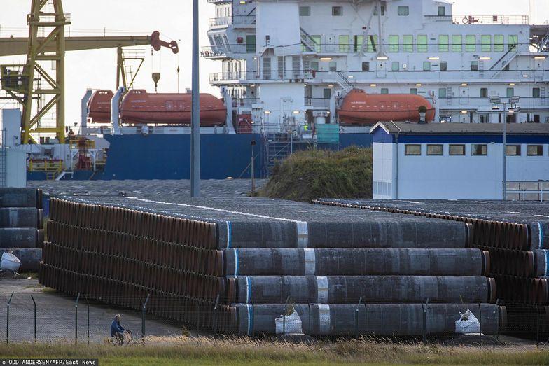 Budowa Baltic Pipe. Przygotowania do wyruszenia na morze