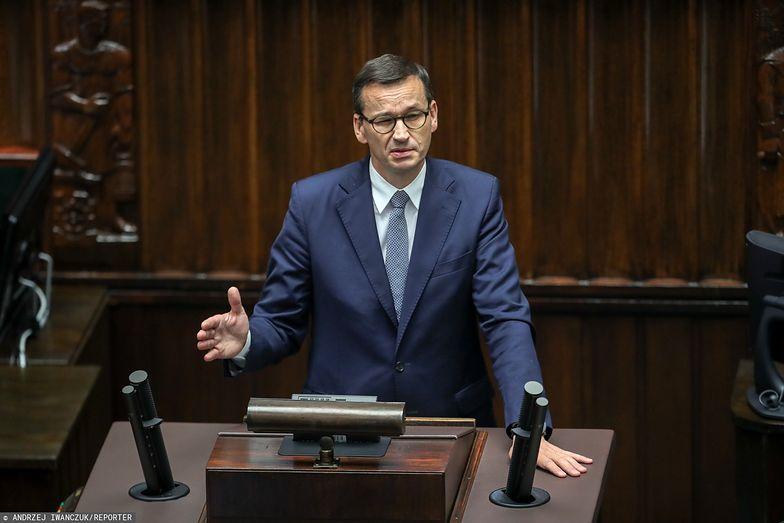 Budżet UE na lata 2021-2027. Premier Morawiecki w Sejmie o ustaleniach ze szczytu w Brukseli
