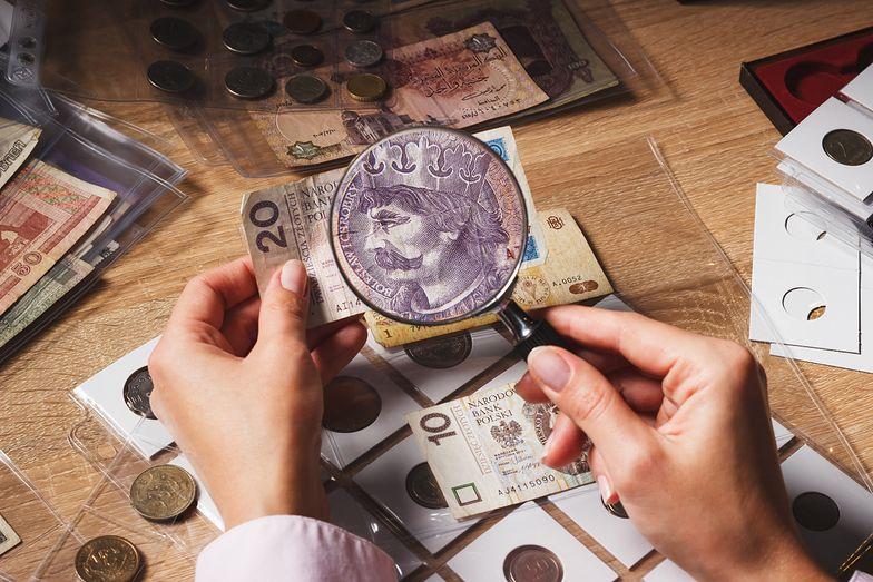 Jak sprzedać 100 zł za 1500 zł. Niespotykane zainteresowanie kolekcjonerskimi banknotami