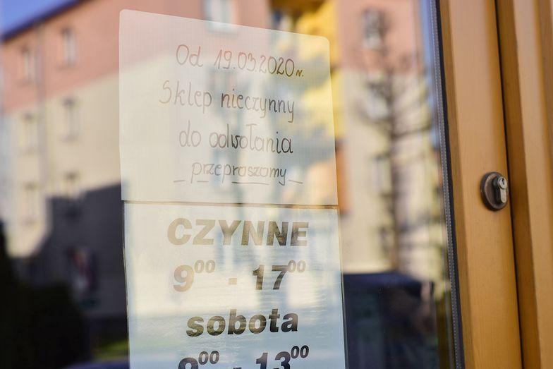 W Polsce w dziesięć lat zamknięto ponad 100 tys. sklepów