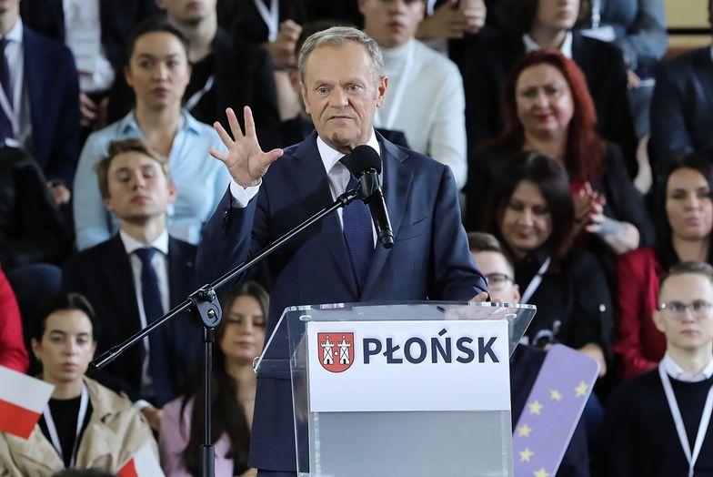 Konwencja PO. Tusk: Ceny chleba w ciągu 4 ostatnich lat wzrosły o 50 proc.