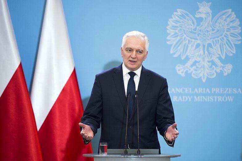 """Jarosław Gowin znów krytykuje Polski Ład. """"Koszty przerzucane na przedsiębiorców"""""""