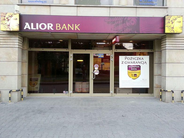 Zysk netto Alior Banku w pierwszym kwartale wyniósł 73 mln zł