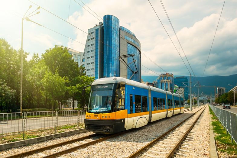 Tramwaj Swing na ulicach Sofii