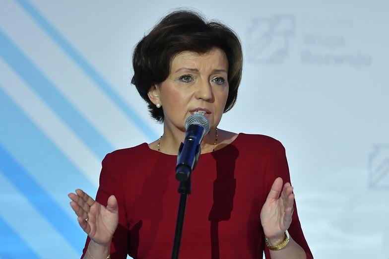"""Obwiniała opozycję. """"Demografia to problem nie jednej kadencji"""" tłumaczy Maląg"""