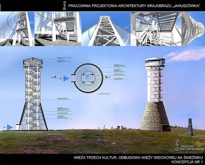Wieża widokowa na Śnieżniku. Pierwsze spotkanie ekipy