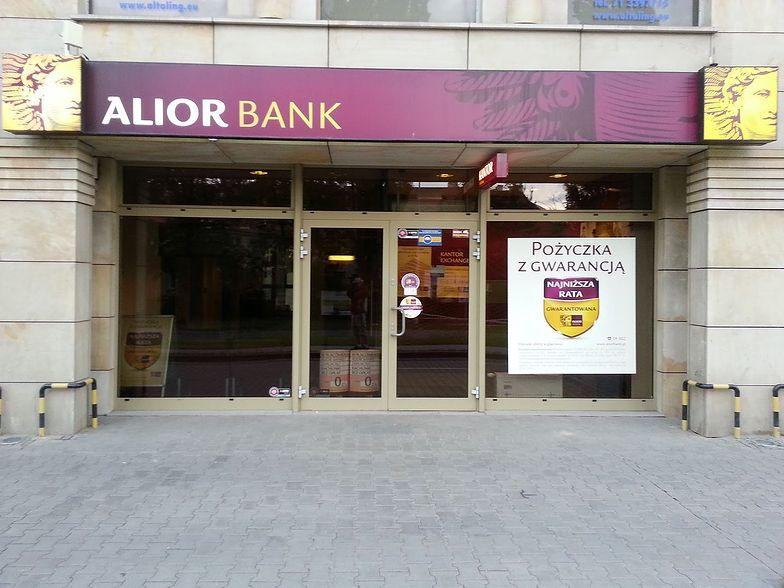 Alior Bank pokazał fatalne wyniki.