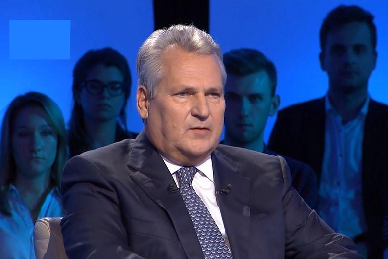 """Aleksander Kwaśniewski o czwartek fali. """"Polacy nie zgodzą się na lockdown"""""""