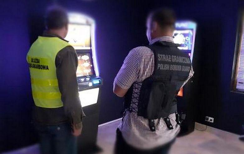 Podziemie hazardowe. Przejęto 9 nielegalnych maszyn do gier