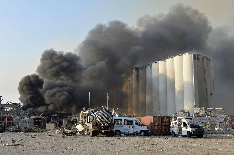 Bejrucki wybuch zniszczył lub zatruł tony składowanej w porcie pszenicy.