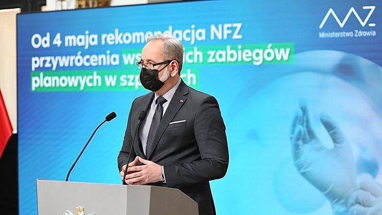 Trzy nowe mutacje wirusa. Minister: to główne ryzyko wygenerowania nowej fali