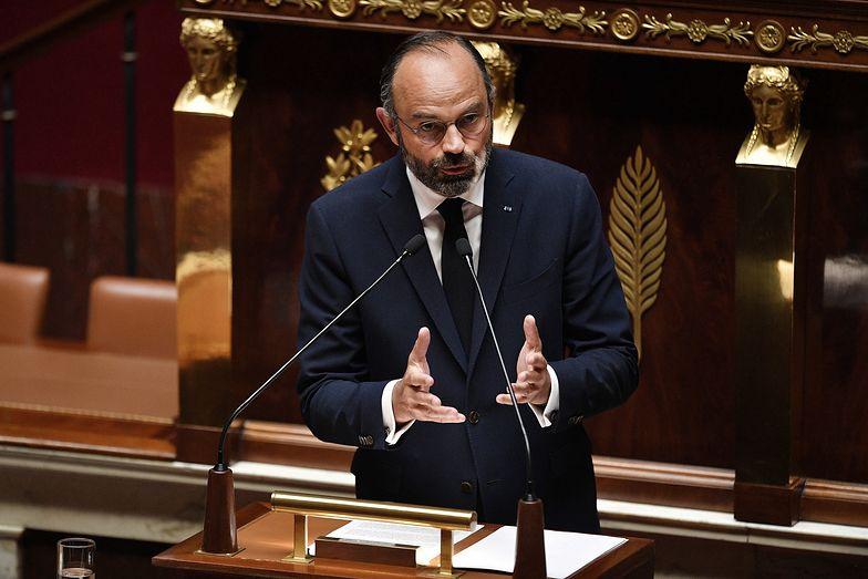 Francuski premier przedstawia plan wyjścia z kwarantanny.