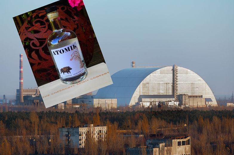 Na Ukrainie skonfiskowano 1,5 tys. butelek wódki. Produkowali ją pod Czarnobylem