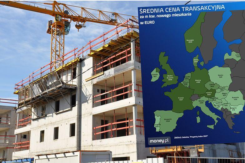 W kryzysowym 2020 roku najwięcej mieszkań wybudowano w Polsce