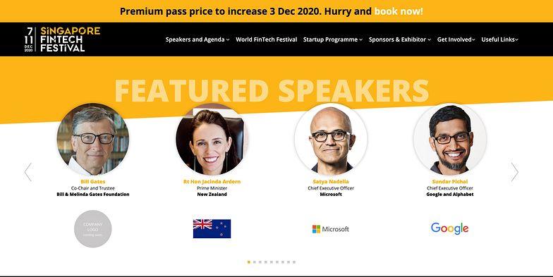 Impact finance'20 na międzynarodowym Singapore Fintech Festival!