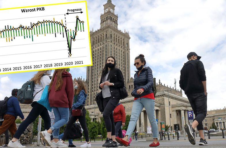 Do kondycji gospodarczej sprzed epidemii szybko nie wrócimy.