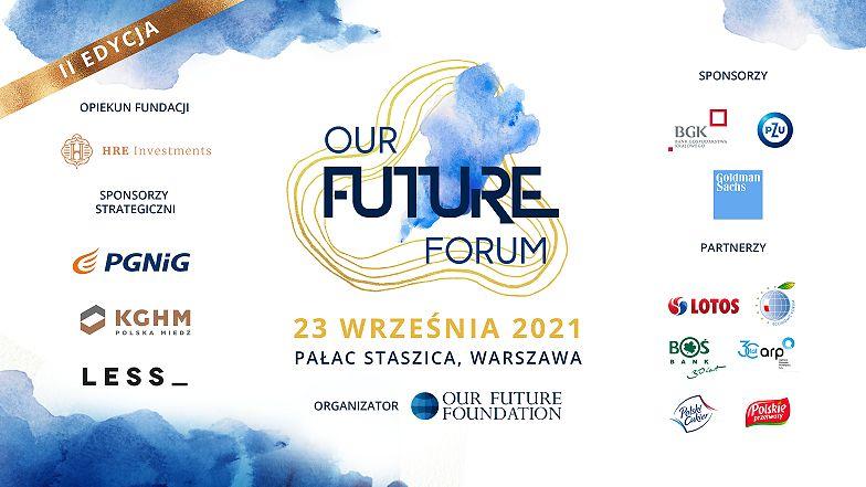 """Druga edycja """"Our Future Forum"""" - Jednej z największych polskich konferencji edukacyjnych rusza 23 września w Warszawie"""