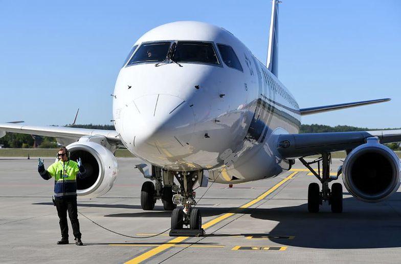 Koronawirus. Rząd chce ograniczyć loty z powodu zagrożenia epidemicznego.