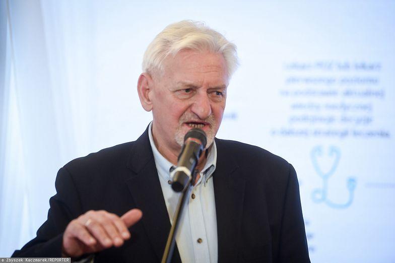 Koronawirus w Polsce. Prof. Horban: Serdecznie pozdrawiam ruch antyszczepionkowy