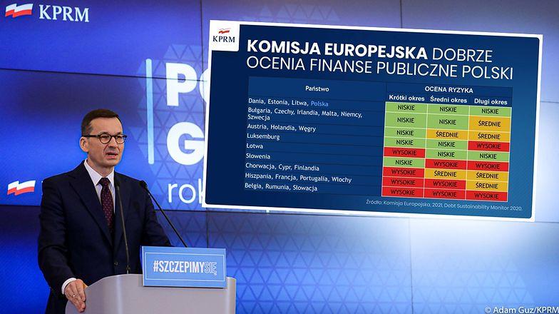 Polska zieloną wyspą. Stabilność fiskalna doceniona przez Komisję Europejską