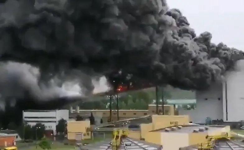 """Pożar w Elektrowni Bełchatów. """"Infrastruktura nie została znacznie uszkodzona"""""""