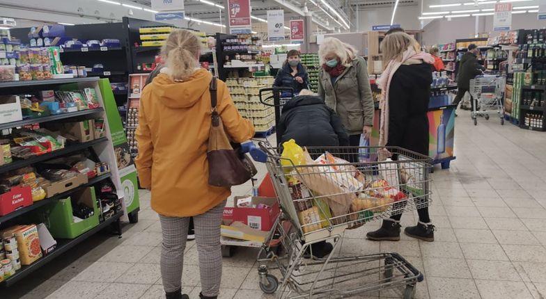 Galopująca inflacja widoczna w sklepach. Duży skok cen