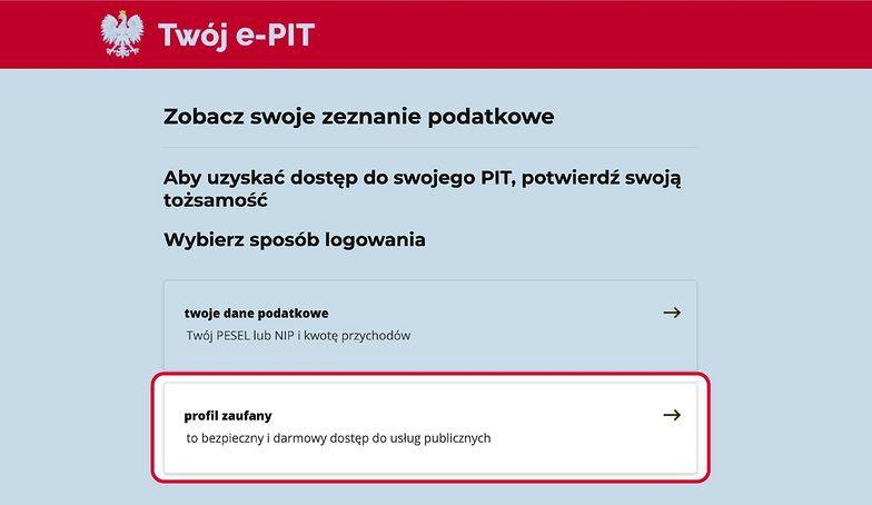 E-PIT tylko przez e-Urząd Skarbowy. Zobacz co się zmieniło w tym rok w dostępie do zeznania podatkowego