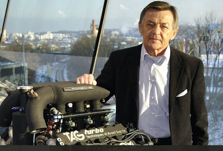 "Hans Metzger określany jest jako ""legendarny konstruktor silników Porsche"""