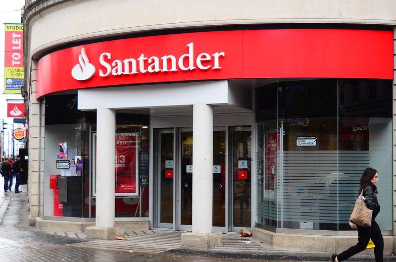 Santander pokazał wyniki.