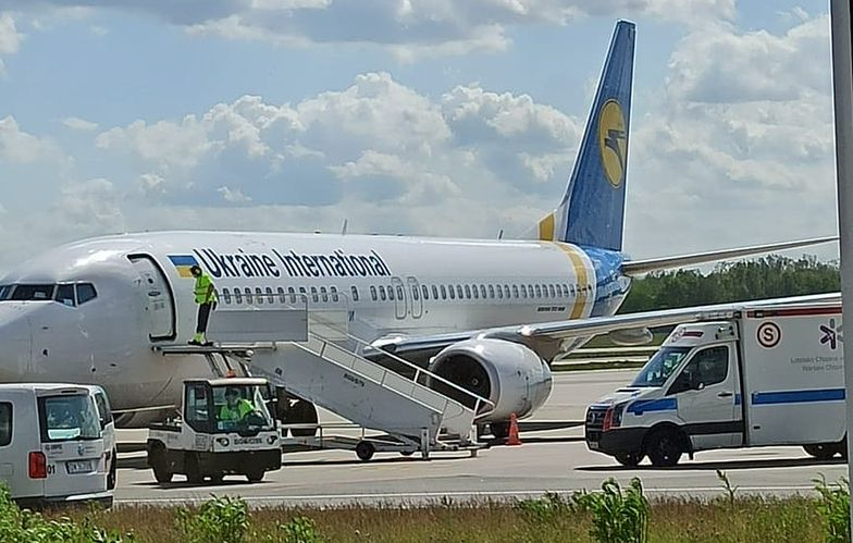 Na pokładzie samolotu znalazło się 178 obywateli Ukrainy.