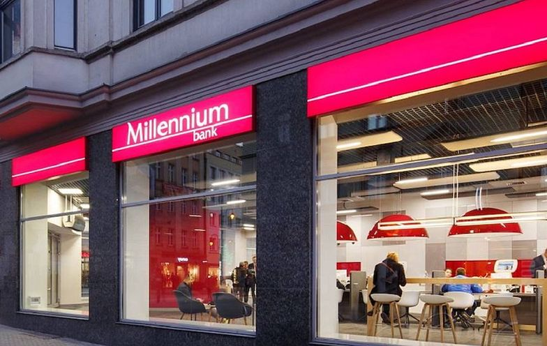 Bank Millennium z potężną stratą. Przez kredyty frankowe