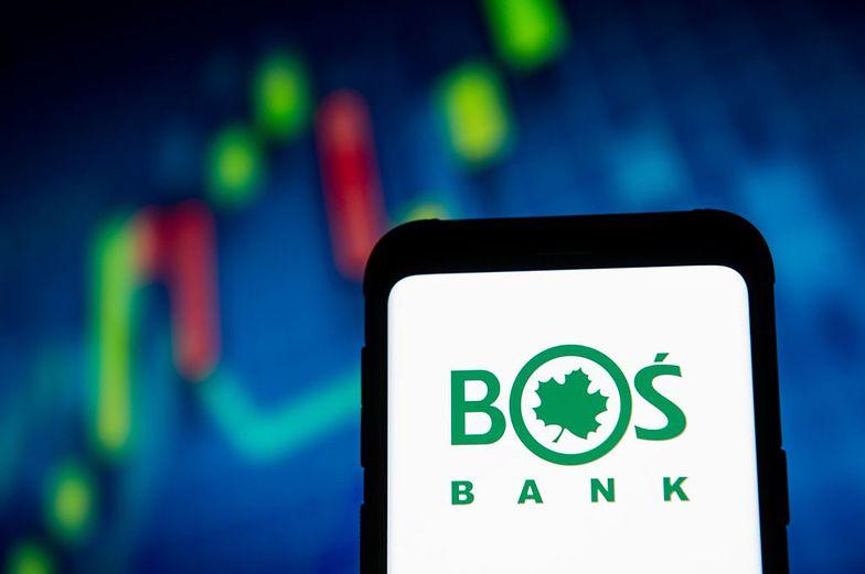 BOŚ Bank ma kłopoty.