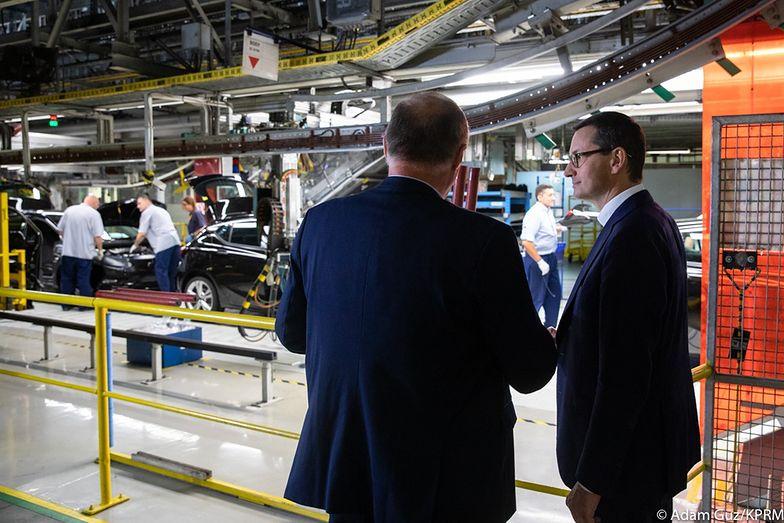 GUS podsumował produkcję aut w kwietniu.
