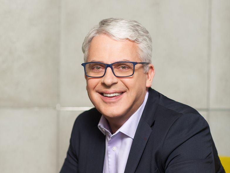 Paweł Jakubik z polskiego oddziału Microsoft