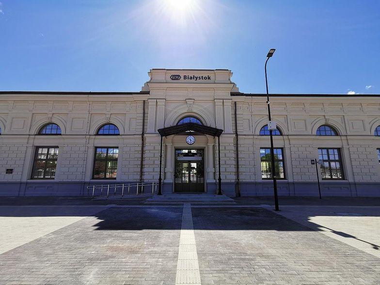 Budowa nowego dworca PKP w Białymstoku na finiszu