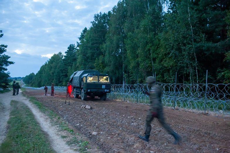 Mur na granicy z Białorusią. Projekt ustawy skierowany do komisji