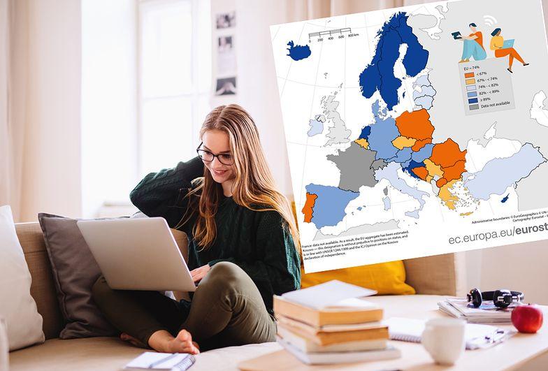 Rozrywka w internecie w trakcie pandemii. Polska na tle UE