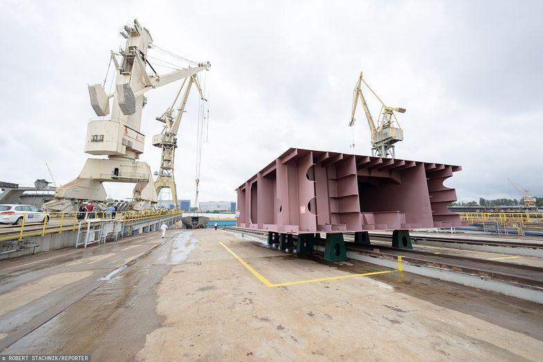 Problemy szczecińskiej stoczni. Zakład przynosi gigantyczne straty