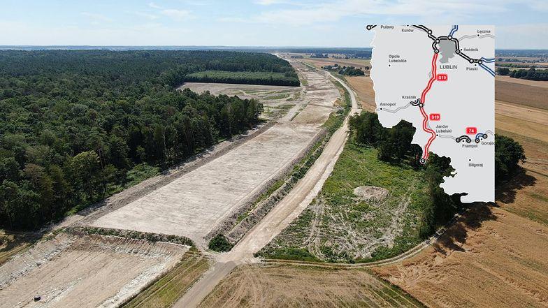 Via Carpatia wzdłuż S19 na odcinku Lublin - Kraśnik z finansowaniem z UE