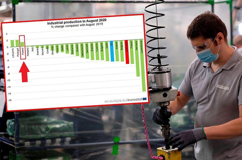 Europejski przemysł cofa się. Polska wśród trzech krajów z rosnącą produkcją