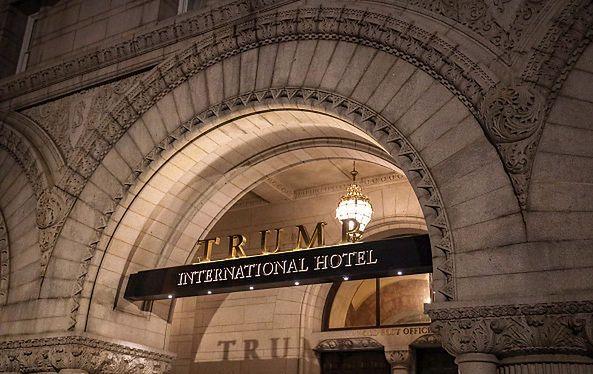 Hotel Trumpa w Waszyngtonie ma problem w związku z koronawirusem (zdjęcie ilustracyjne).