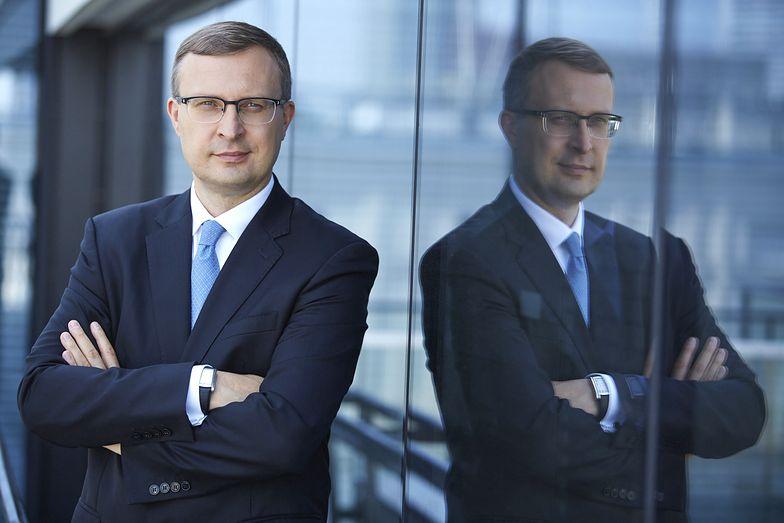 """Paweł Borys, prezes Polskiego Funduszu Rozwoju: """"Liczę, że wkrótce uruchomimy w pełni program pomocowy dla dużych firm, o wartości 25 mld zł"""""""
