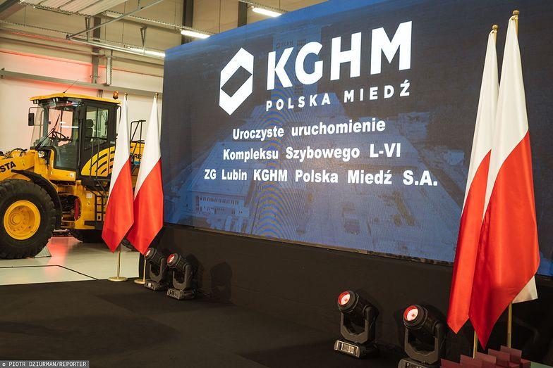 KGHM to czołowy producent miedzi na świecie i drugi co do wielkości srebra